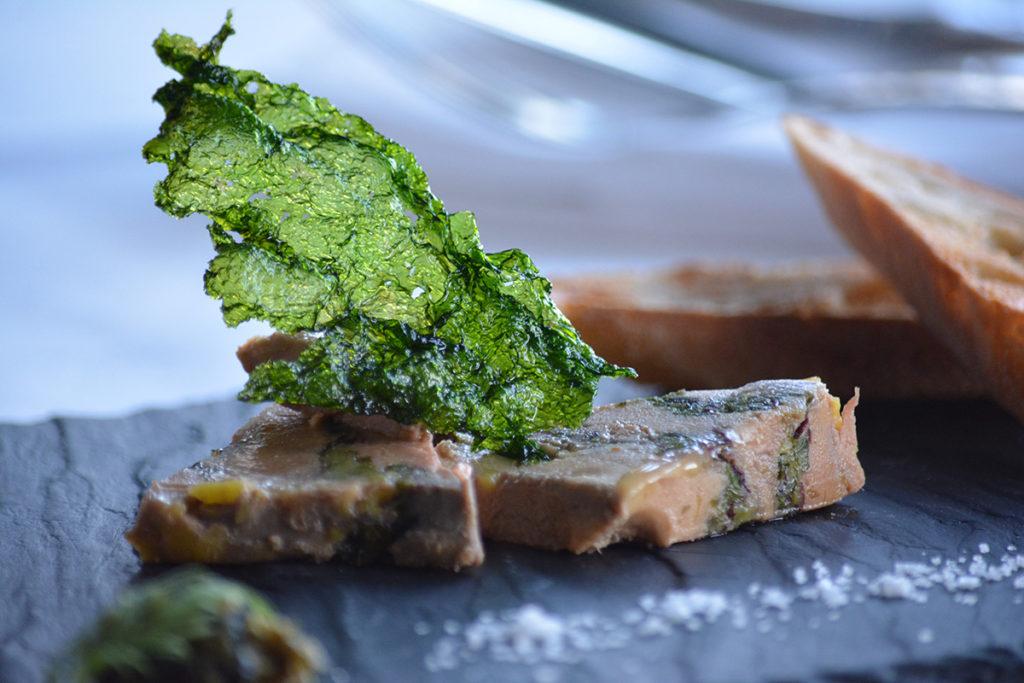 foi gras aux algues